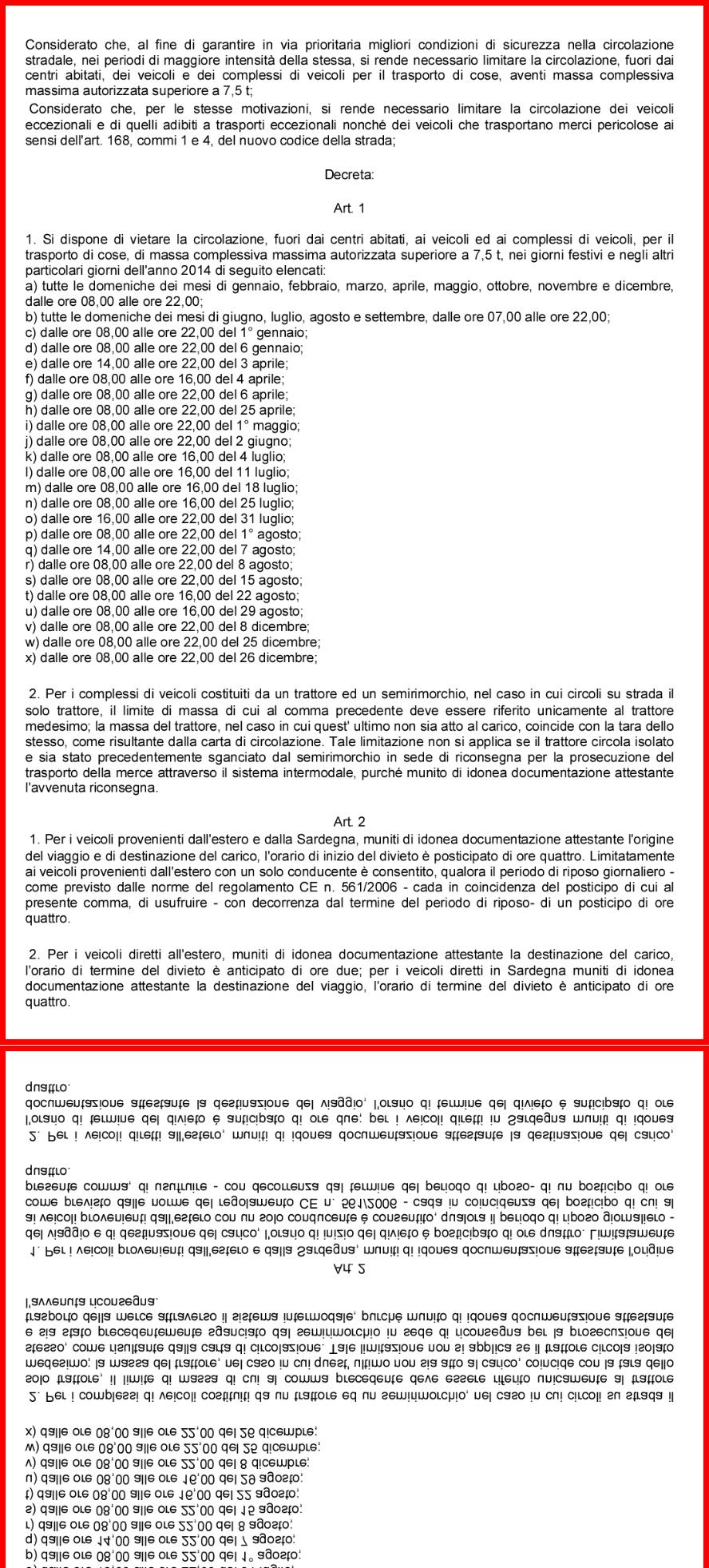 Calendario Anno 2015.Calendario Divieti Di Circolazione Anno 2015 Studio